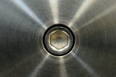 Roestvrij staal na het machinaal bewerken Stock Foto