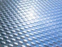 Roestvrije textuur als achtergrond Stock Foto