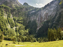 Roethbachfall. Roethbach waterfall in Berchtesgaden, Bavaria, Germany Royalty Free Stock Images
