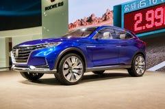 Roewe视觉E在上海车展的概念汽车 免版税图库摄影