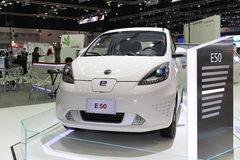 Roewe E50 Electric Car display Thailand International Motor Expo 2013 Royalty Free Stock Photography