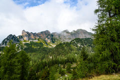 Rofan山(阿尔卑斯) 库存照片