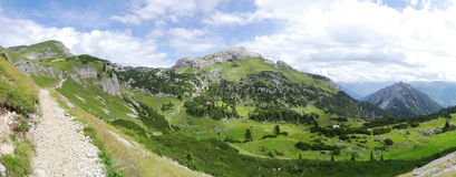 Rofan, Achensee, Tirol, Австрия Стоковое Фото