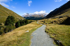 Rofen in AutumnOetztal, Tyrol (Austria) Stock Image
