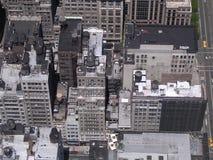 Roftops von New York City. Stockfotos