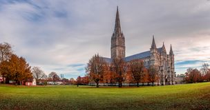 Rogación en el verde en la ciudad de Salisbury Imágenes de archivo libres de regalías