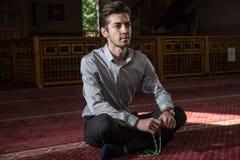 Rogación musulmán Imágenes de archivo libres de regalías