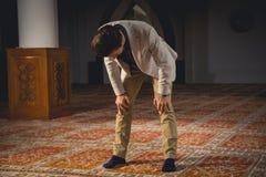 Rogación musulmán Foto de archivo