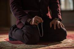 Rogación musulmán Fotografía de archivo libre de regalías