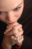 Rogación de la mujer Imagen de archivo libre de regalías