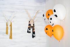 Rogacz kierownicza dekoracja dla Halloween Zdjęcie Stock