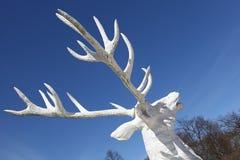 Rogacz Rzeźba Zdjęcie Royalty Free