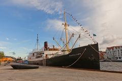 Rogaland ship (1929) in Stavanger, Norway Royalty Free Stock Photography