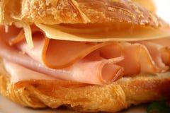 rogalik serowy ham Fotografia Royalty Free
