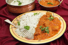 Rogan josh meal Stock Image