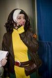Roge del Xmen alla convenzione di Baltimora Comicon Immagini Stock