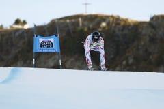 ROGER Brice in FIS alpiner Ski World Cup - der SUPER-G der 3. MÄNNER Lizenzfreie Stockfotos