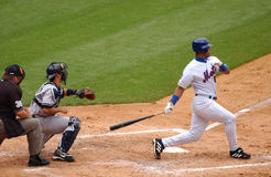 Roger Cedeno, New York Mets. Stock Photography