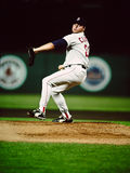 Roger Clemens Boston Red Sox Arkivbilder