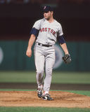 Roger Clemens Boston Red Sox Royaltyfri Bild