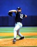 Roger Clemens New York Yankees Fotografering för Bildbyråer