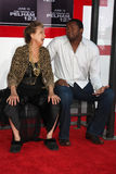 Roger Cross, Cloris Leachman Royalty-vrije Stock Foto's