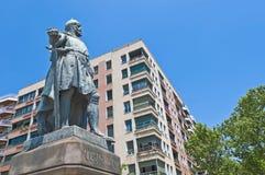 Roger de Lluria monument in Barcelona, Spain Royalty Free Stock Image