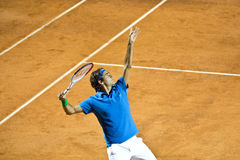 Roger Federer. In Rome 2012 Royalty Free Stock Photography