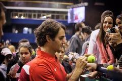 Roger Federer Lizenzfreies Stockbild