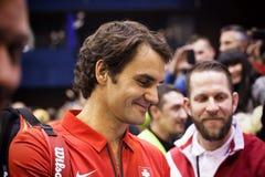 Roger Federer Fotografering för Bildbyråer