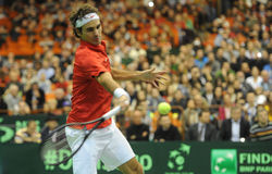 Roger Federer Photo libre de droits
