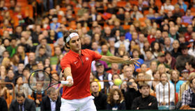 Roger Federer Fotografía de archivo