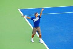 Roger Federer Lizenzfreies Stockfoto