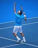 Roger Federer all'australiano apre 2010 Fotografia Stock