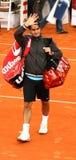 Roger Federer, Amburgo 2008 Fotografie Stock Libere da Diritti