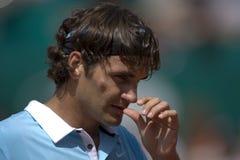 Roger Federer die Schweiz lizenzfreie stockfotografie