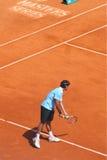 Roger federer gracz w tenisa, zaliczający top Zdjęcie Royalty Free