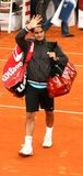 Roger Federer, Hamburgo 2008 Fotos de Stock Royalty Free