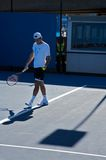 Roger Federer, Switzerland top ranked tennis. Switzerland top ranked tennis player Roger Federer, Australian Open, Melbourne Royalty Free Stock Image