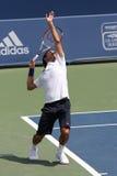 Roger federer tenis gracza Obrazy Royalty Free