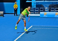 Roger Federer-Umhüllung Stockbild
