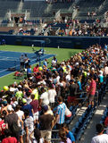 Roger Federer at the 2017 US Open, New York City, New York, USA Royalty Free Stock Photography