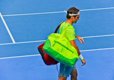 Roger Federer w australianie open Zdjęcie Royalty Free