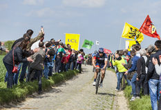 Roger Kluge- Parigi Roubaix 2014 Immagine Stock Libera da Diritti