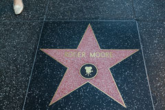 Roger Moore Hollywood Star Royalty Free Stock Images