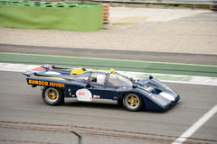 Roger Penske 1971 Ferrari 512M Sunoco Royalty Free Stock Photos