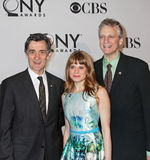Roger Rees, Celia Keenan-Bolger, and Rick Elice Stock Photos