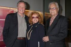 Roger Smith, Billy Wilder, Ann, Jon Voight fotografia stock