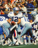 Roger Staubach Dallas Cowboys Fotografia de Stock