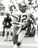 Roger Staubach Dallas Cowboys Stock Photo